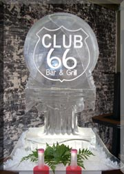 Club 66 Circle Monogram Luge