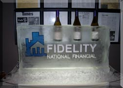 Wine Display Luge